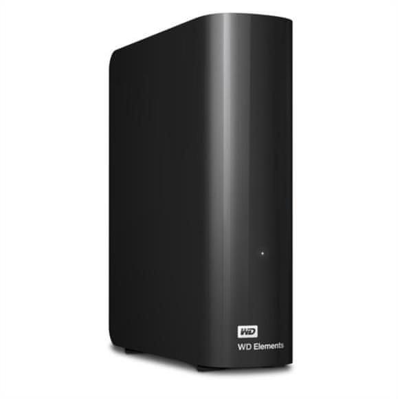 "Western Digital Elements Desktop 4TB / Externí / USB 3.0 / 3,5"" / Black (WDBWLG0040HBK-EESN)"