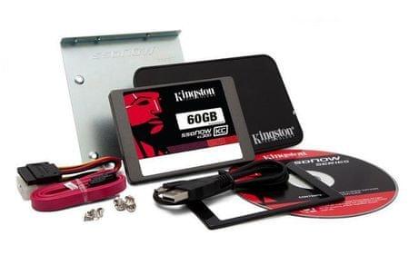 Kingston SSD disk KC300 60GB (SKC300S3B7A/60G)