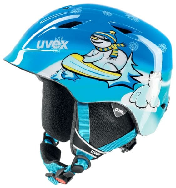 Uvex Airwing 2, blue snowman 46-50