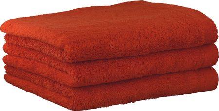 Cawö Frottier Ręcznik Lifestyle, 3 szt, pomarańczowy