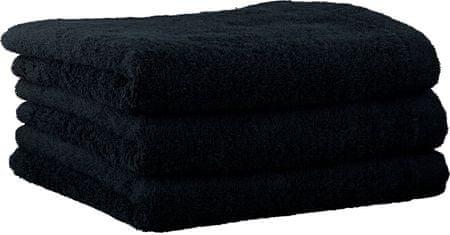 Cawö Frottier Ręcznik Lifestyle, 3 szt, czarne