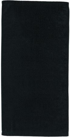 Cawö Frottier Lifestyle brisača 70x140 cm, črna