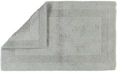 Cawö Frottier Luxus předložka do koupelny stříbrná