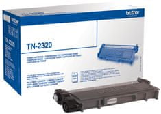Brother toner TN2320, črn, 2.600 strani