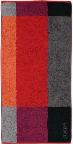 Joop! Graphic Squares osuška 80 x 150 cm červená  MALLCZ