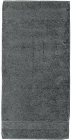 Cawö Frottier Noblesse Törölköző, Anthracite, 80 x 160 cm