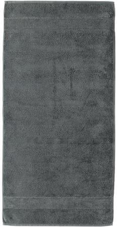 Cawö Frottier brisača Frottier Noblesse Uni 80 x 160, siva