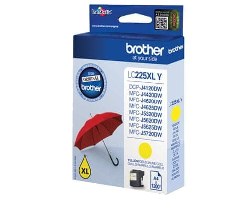Brother LC-225XLY yellow