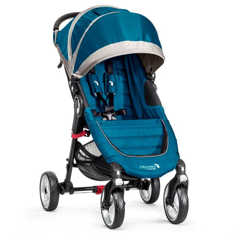 Baby Jogger City mini 4 kola, tyrkysová - rozbaleno