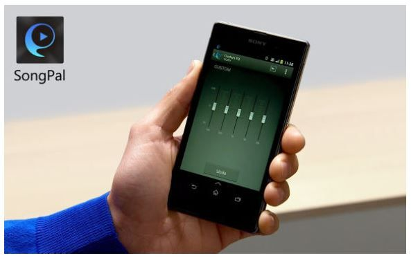 Aplikacja SongPal