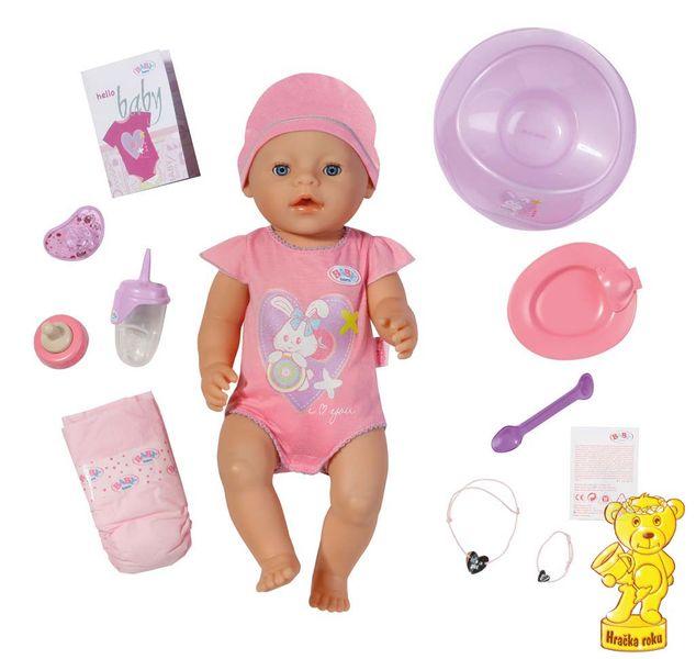 BABY born Interaktivní panenka, 43 cm