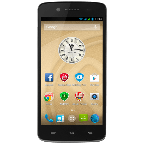 Prestigio MultiPhone 5507 DUO, černý