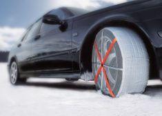 Autosock tekstilne snežne verige