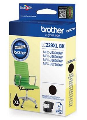 Brother kartuša LC229 XL BK, črna, 2.400 strani