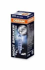 Osram žarnica 12V H1 55W Night Breaker Unlimited