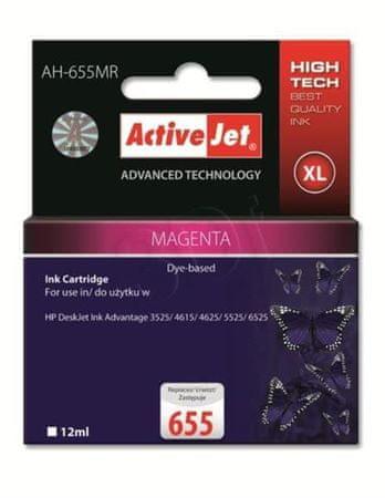 ActiveJet Magenta črnilo HP655