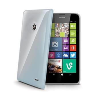 Celly tenký kryt Gelskin, Nokia Lumia 630, čiré