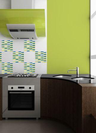 Crearreda stenska dekorativna nalepka, mozaik ambient 3/1