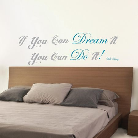 Crearreda stenska dekorativna nalepka, Dream & do it L