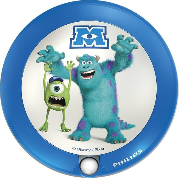 Philips 71771/55/16 noční lampička na baterie Monsters University, LED, senzor