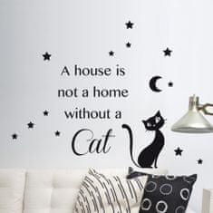 Crearreda stenska dekorativna nalepka, Cat M