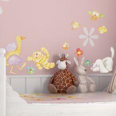 Crearreda stenska dekorativna nalepka, živali S