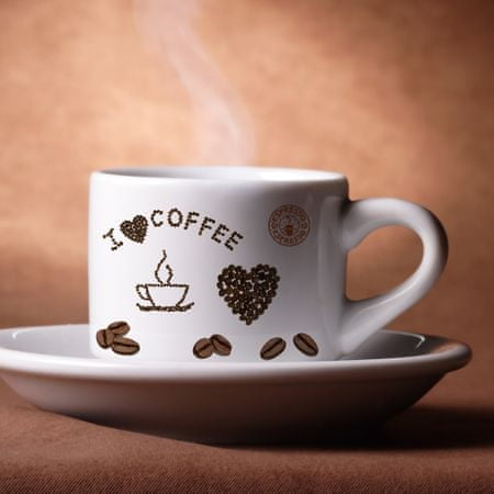 Crearreda dekorativna nalepka, kava S