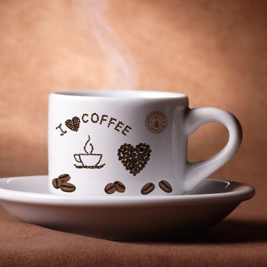 Crearreda dekorativna naljepnica, kava, S