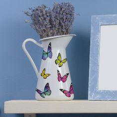 Crearreda dekorativna nalepka, pisani metulji