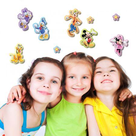 Crearreda stenska dekorativna nalepka, 3D Mickey&Minnie M