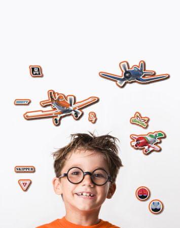 Crearreda stenska dekorativna nalepka, 3D Avioni M