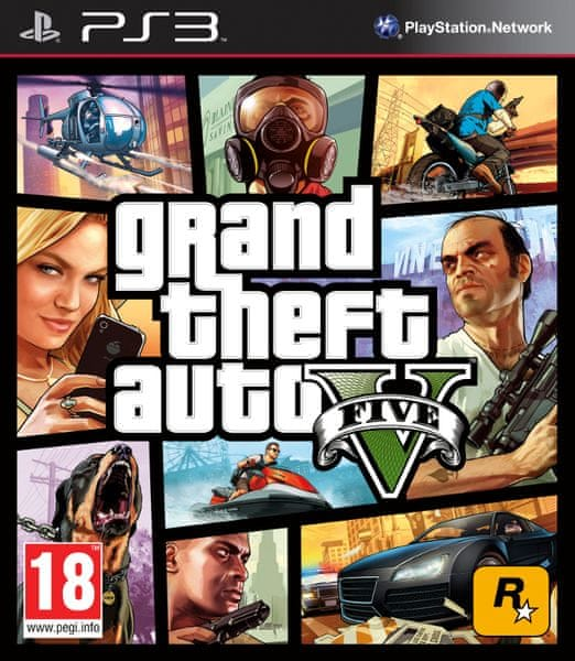 Rockstar Grand Theft Auto V (GTA 5) / PS3