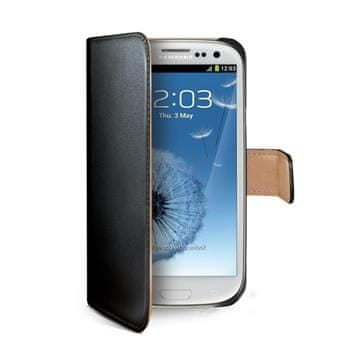 CELLY Wally Telefontok, Samsung Galaxy S III, Fekete