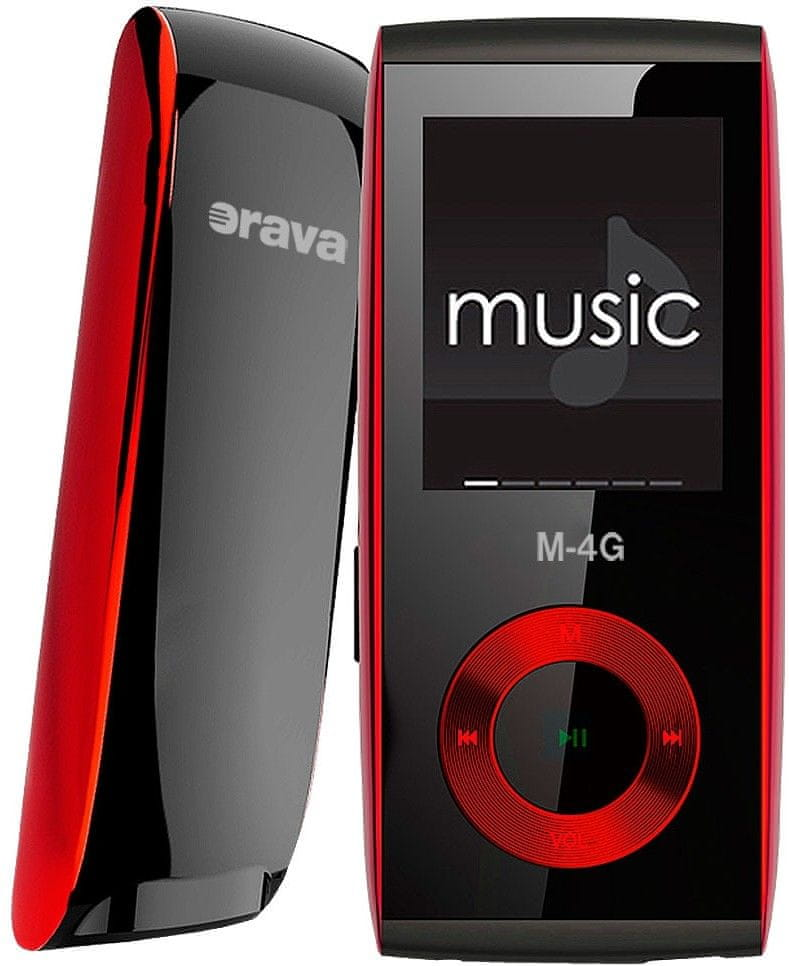 Orava M-4G / 4 GB (Red)
