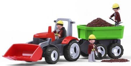 Igráček MultiGO 1+2 traktor - rozbaleno