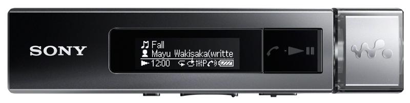 Sony NWZ-M504 / 8 GB (Black)