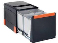 Franke sistem za ločevanje odpadkov Cube 41, avtomatski, 3 delni