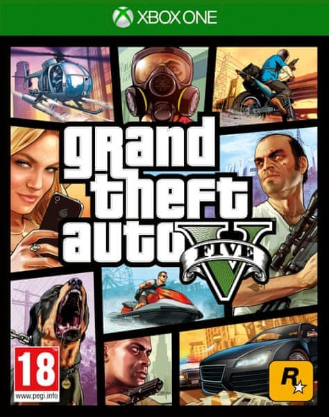 Rockstar Grand Theft Auto V (GTA 5) / Xbox One