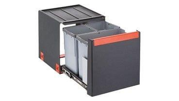 Franke sistem za ločevanje odpadkov Cube 40, 3 delni