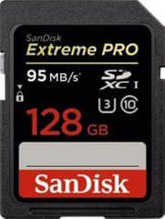 SanDisk karta pamięci Extreme Pro SDXC 128 GB (SDSDXPA-128G-G46)