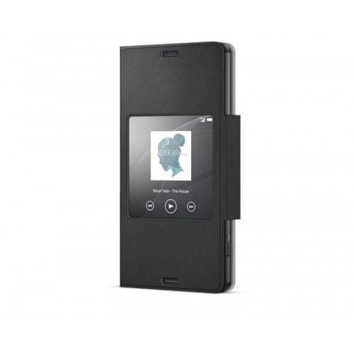 Sony Pouzdro Smart, Xperia Z3 Compact, černé