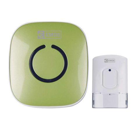 Emos brezžični zvonec P57178G, zelen
