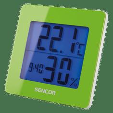 SENCOR SWS 15 GN Hőmérő és ébresztőóra