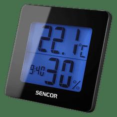 SENCOR SWS 15 B Hőmérő és ébresztőóra
