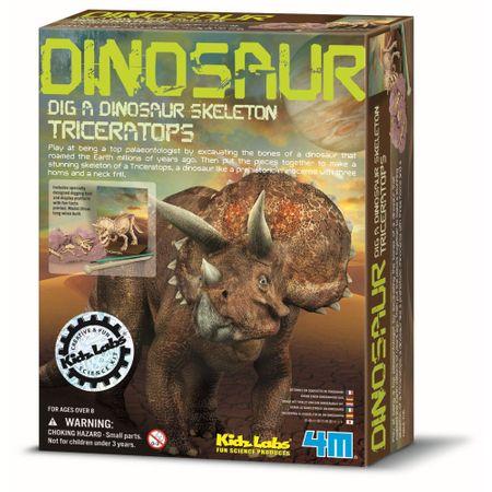 4M Set za izkopavanje Triceratopsa