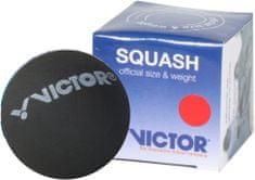 Victor Squashový míček červený (1 tečka)