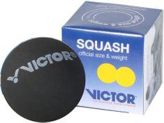 Victor Squashový míček žlutý (2 tečky)