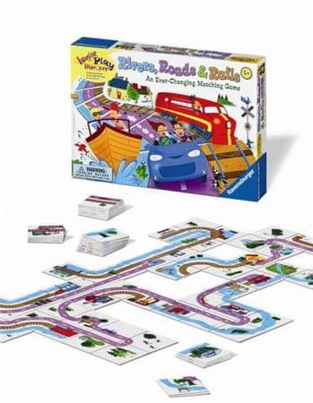 Ravensburger igra Reke, ceste in železnice