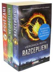 Komplet - Veronika Roth: Razcepljeni (Divergent)