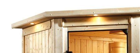 KARIBU Osvetľovacia rímsa k saune Kira 1